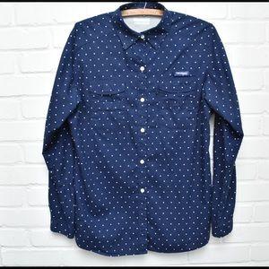 EUC Columbia Super Bonehead Button Down Shirt Med